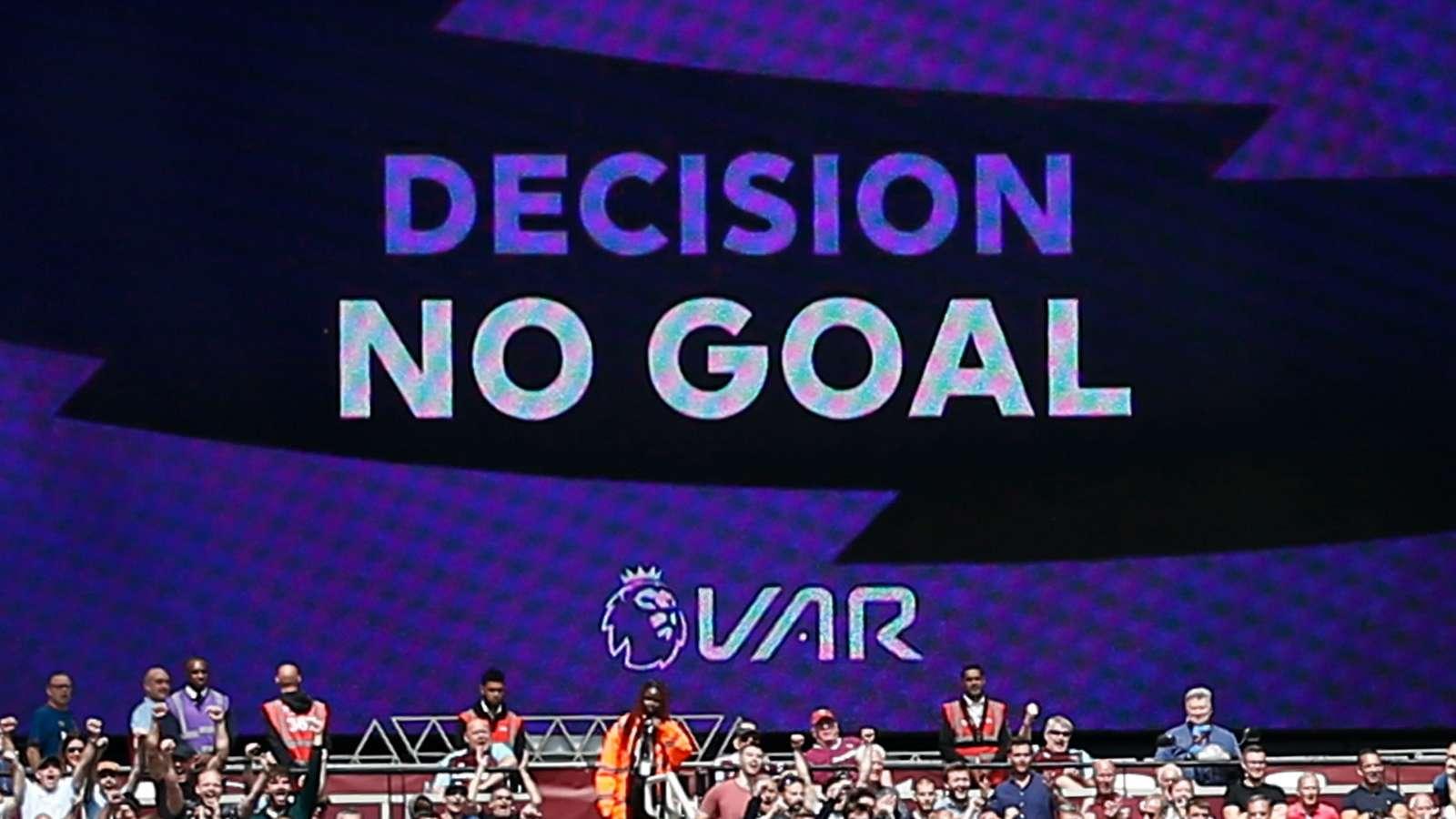 VAR rules out Gabriel Jesus goal, West Ham vs Man City