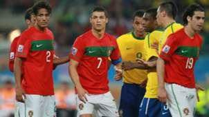 Cristiano Ronaldo Portugal Brazil World Cup 2010
