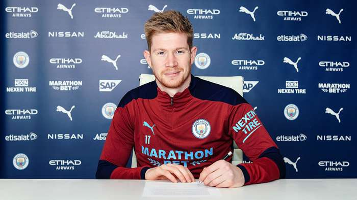 Kevin De Bruyne Man City 2020-21