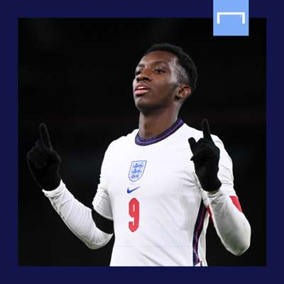 Eddie Nketiah England under 21 GFX