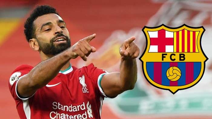 Mohamed Salah Liverpool Barcelona 2020-21