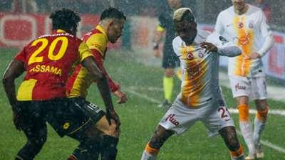 Goztepe Galatasaray Henry Onyekuru 260119