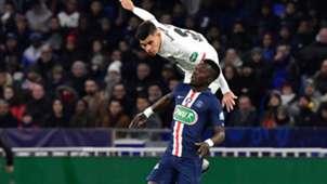 Bruno Guimarães Lyon PSG Coupa de France 2020