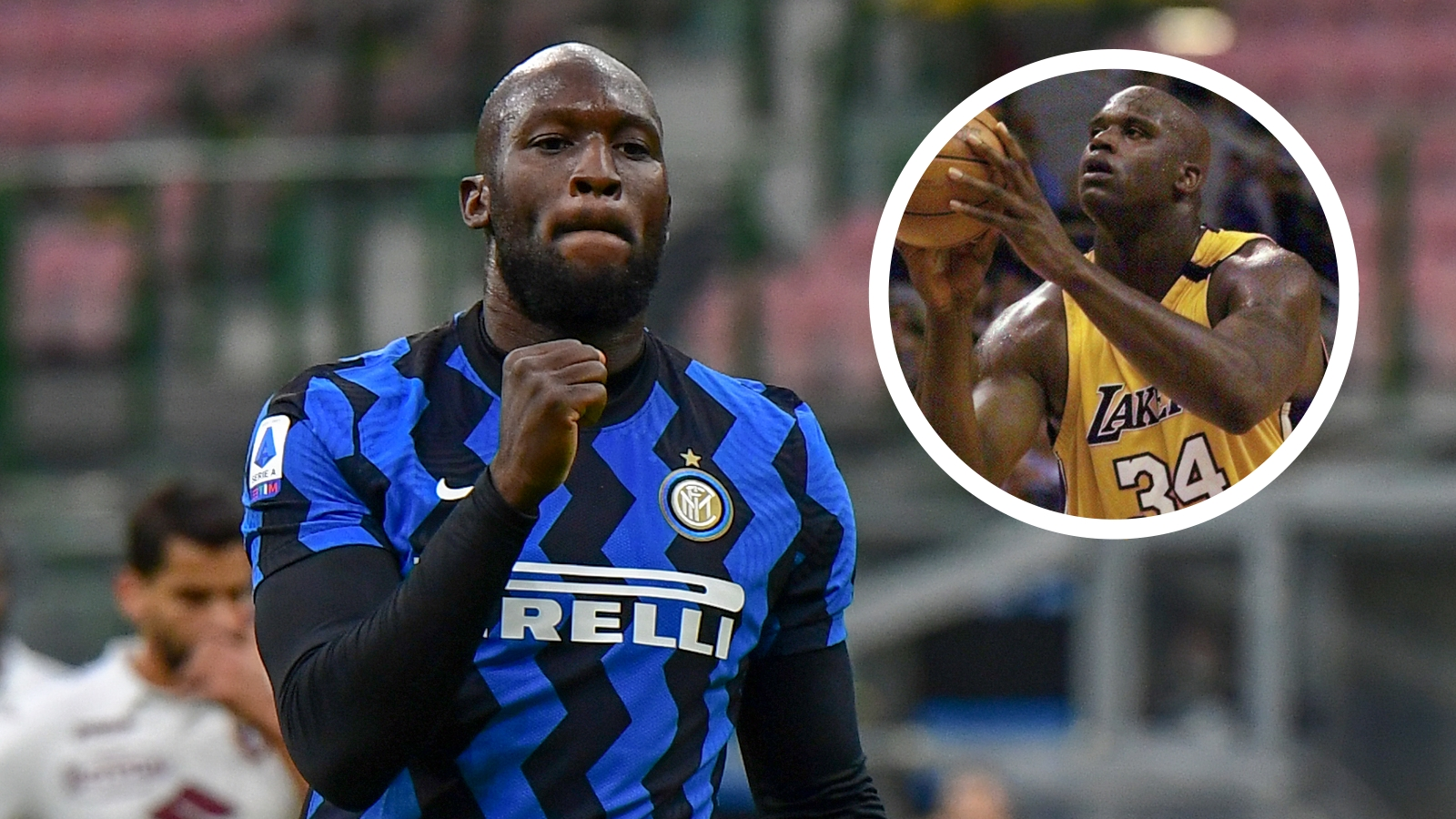 'Lukaku is like Shaq, a force of nature!' – Inter striker lauded by Barella