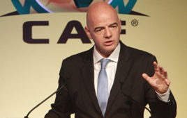"""Gianni Infantino - Caf """"General Assembly"""" morocco"""
