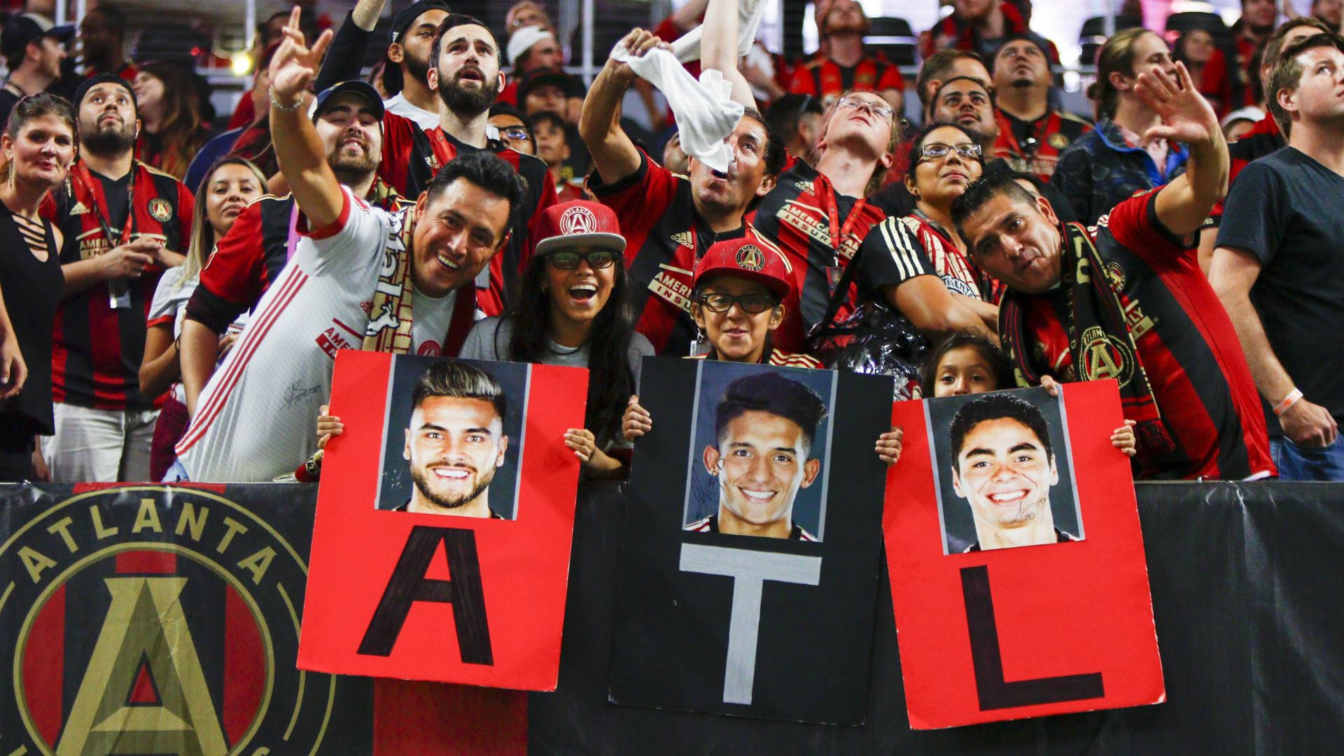 Atlanta United fans 09132017