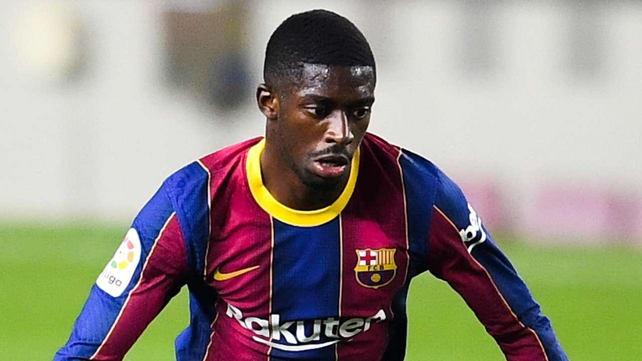 Ousmane Dembele, Barcelona 2020-21, La Liga