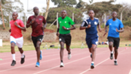 Kenya referees undergo test.