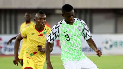 Jamiliu Collins - Nigeria vs Benin