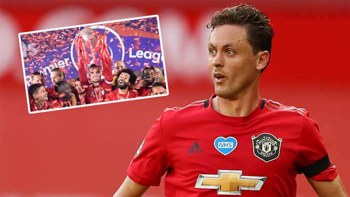 Nemanja Matic Man Utd Liverpool Premier League 2019-20