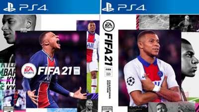 FIFA 21 cover split standard Champions