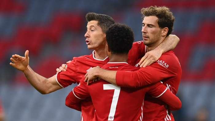Lewandowski Bayern Munich Bundesliga 2020