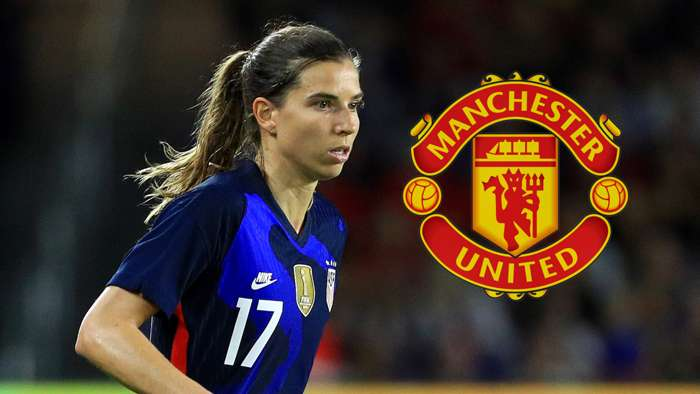Tobin Heath USWNT Manchester United Women 2020
