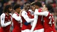 Arsenal celebrate vs Southampton