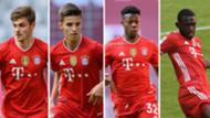 GFX FC Bayern Youngster Dantas Stanisic Nianzou Scott