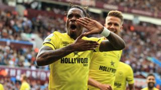 Ivan Toney Aston Villa vs Brentford Premier League 2021-22