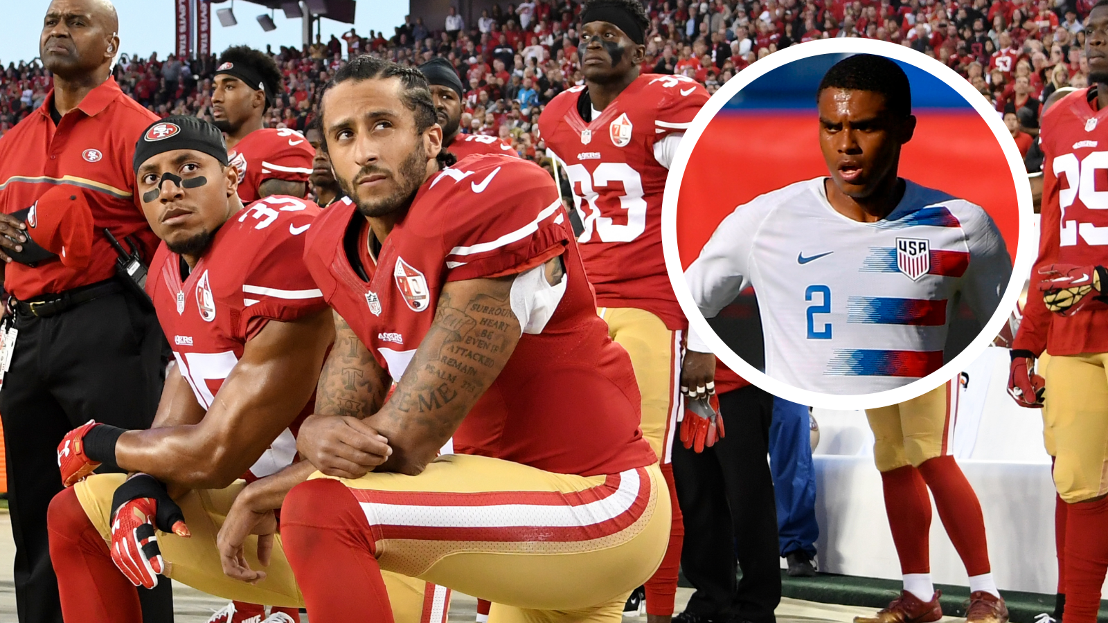 USMNT's Cannon: Kaepernick was right all along with racism protest