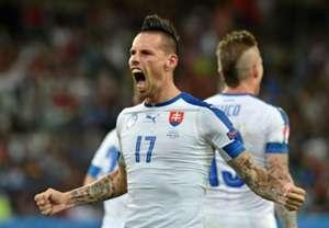 Marek Hamsik scores Russia Slovakia Euro 2016