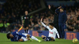 Son Andrè Gomes - Everton Tottenham