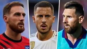 La Liga split