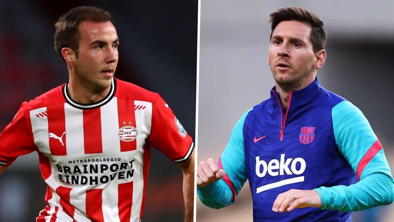 CNR: Mario Gotze Lionel Messi