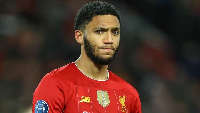 Joe Gomez Liverpool 2019-20