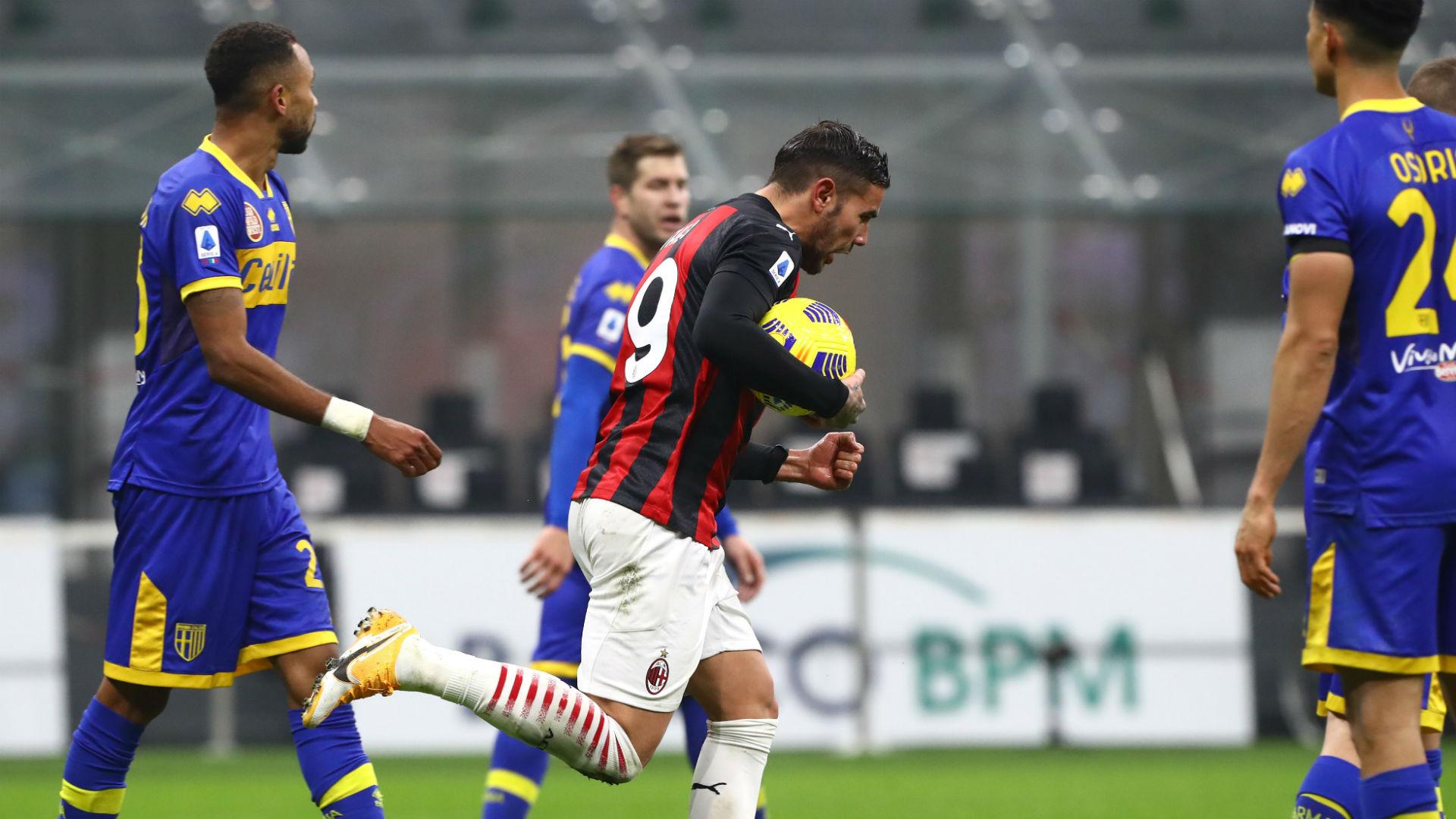 Théo Hernandez sauve l'AC Milan contre Parme