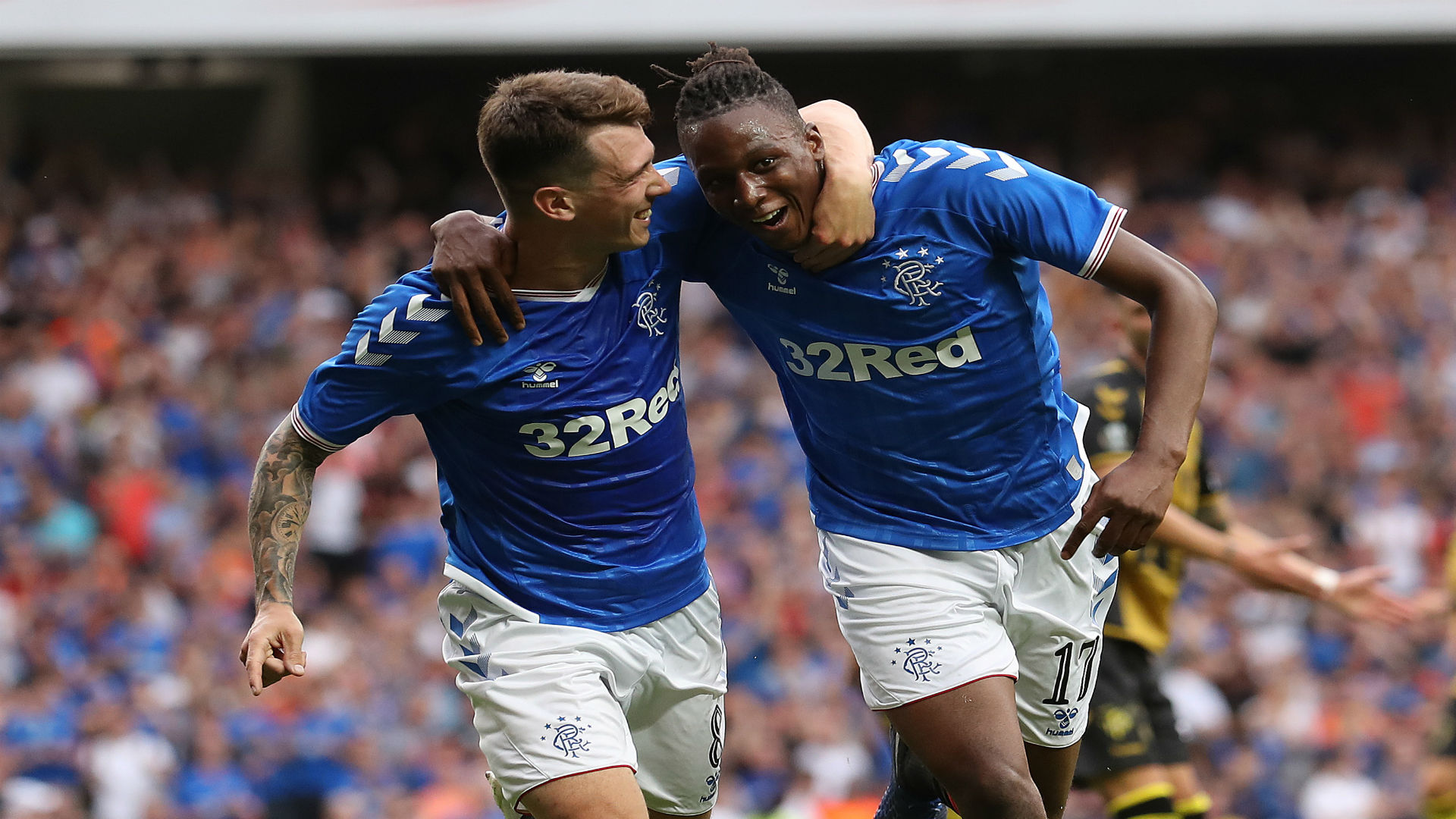 Aribo sets Rangers goal target, reacts to Laudrup and Fletcher praise