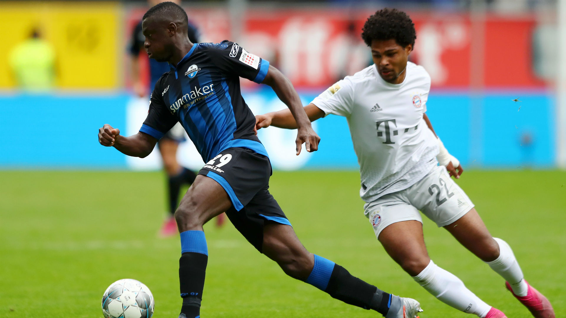 Paderborn 2-3 Bayern Munich: Champions go top after edging to victory