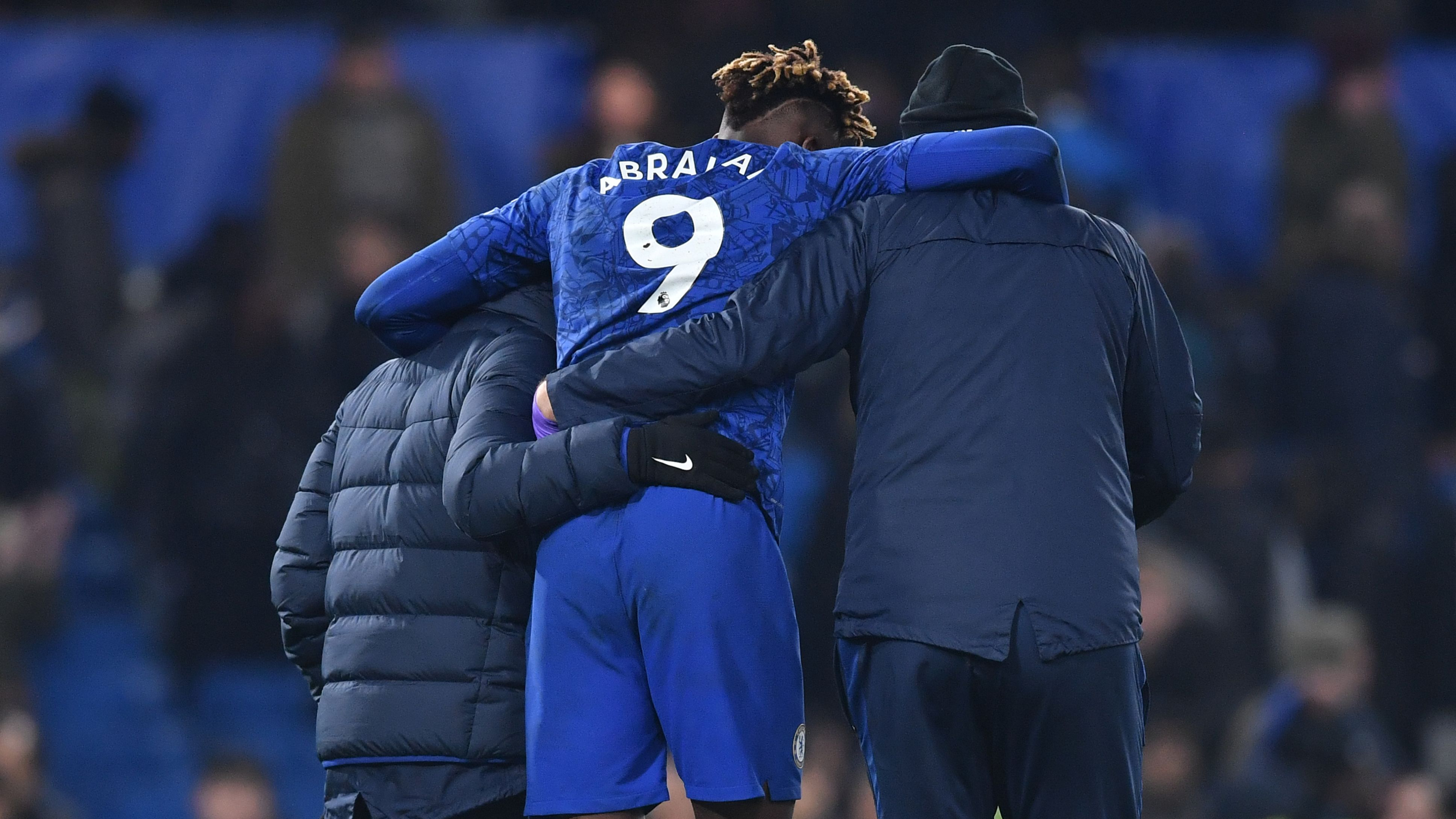 Abraham carried off with suspected ankle injury after Arsenal draw