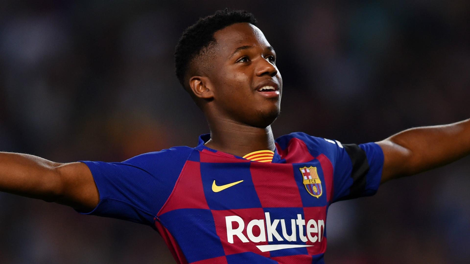Resmi Ansu Fati Teken Kontrak Baru Di Barcelona Dengan Klausul 400 Juta Goal Com