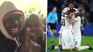 Paul Pogba Patrice Evra Fred Romelu Lukaku Victor Lindelof