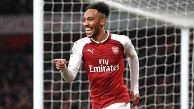 Pierre-Emerick Aubameyang Arsenal Everton