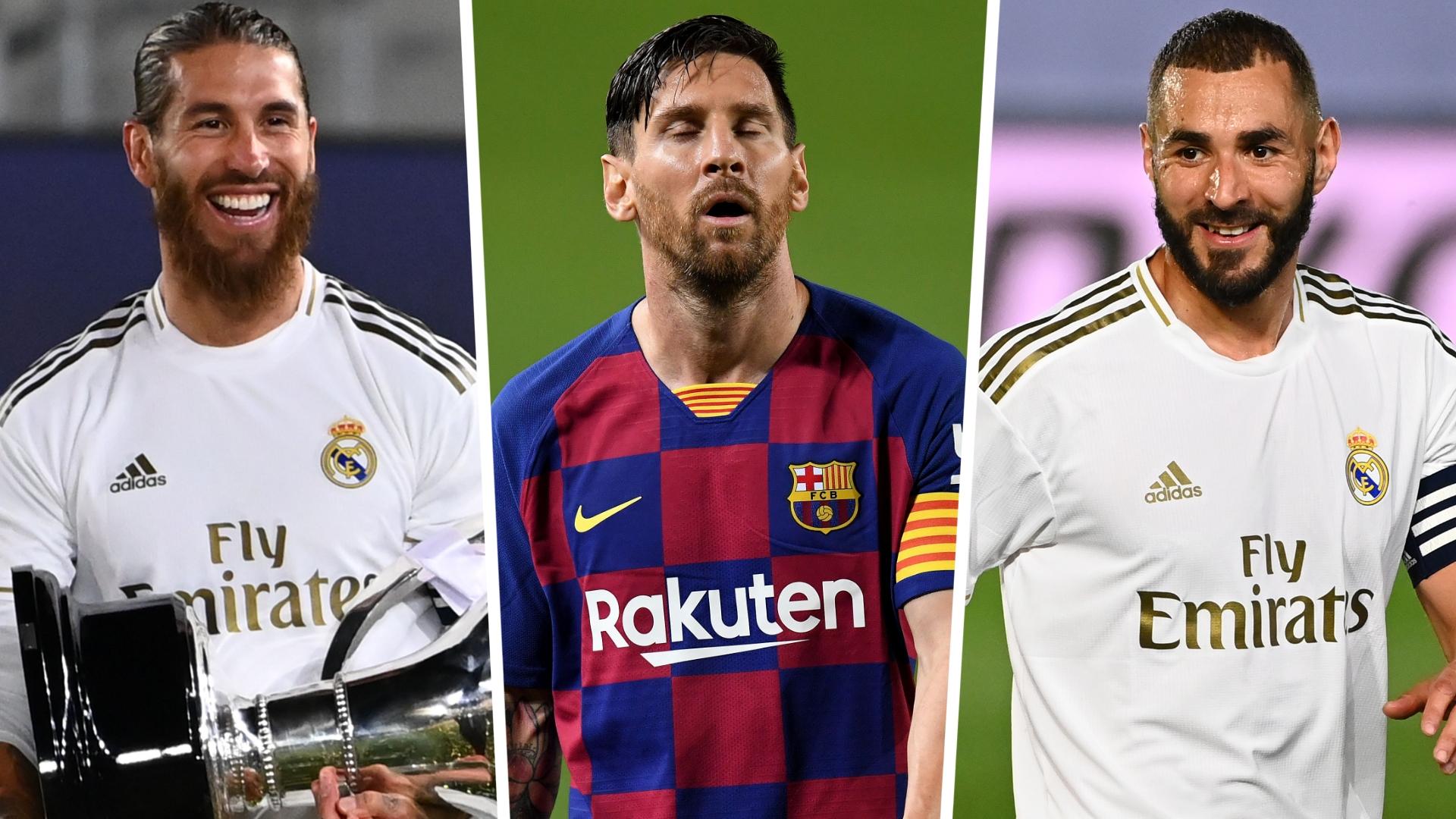Messi, Ramos & Benzema lead La Liga Team of the Season