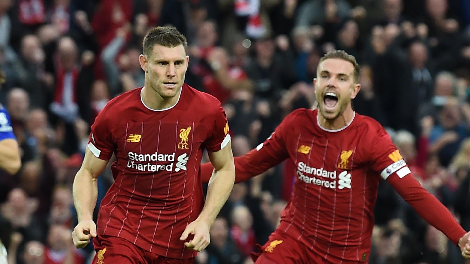 James Milner Jordan Henderson Liverpool
