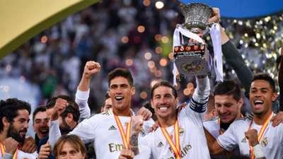 Real Madrid Supercopa 2019-20