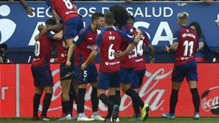 Osasuna celebrate 2019-20