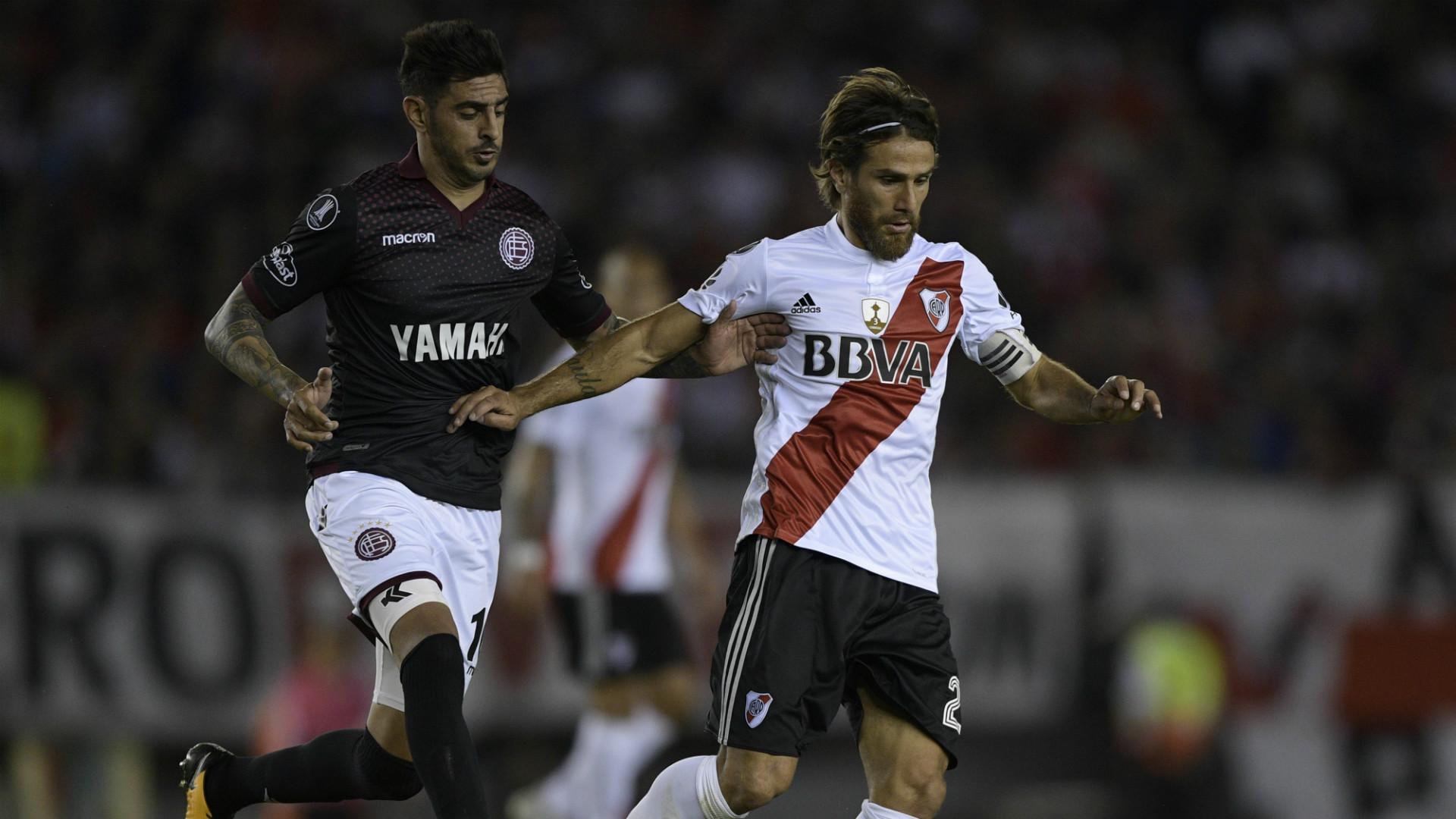 Leonardo Ponzio River Lanus Semifinales Copa Libertadores 24102017