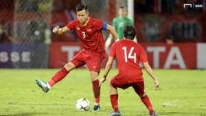 Que Ngoc Hai Thai Lan - Vietnam 2022 FIFA World Cup qualification