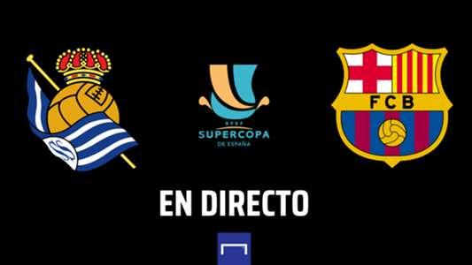 Real Sociedad vs. Barcelona, semifinal de la Supercopa de España 2020-2021: fecha, día, hora, cuándo y dónde es, tv   Goal.com