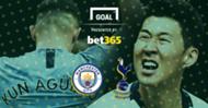 Manchester City v Tottenham Bet365