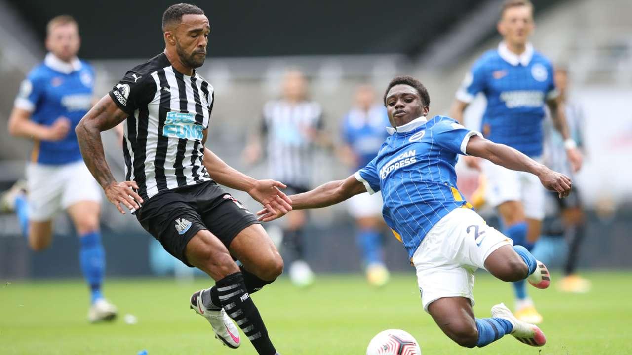 Callum Wilson Tariq Lamptey Newcastle Brighton 2020-21