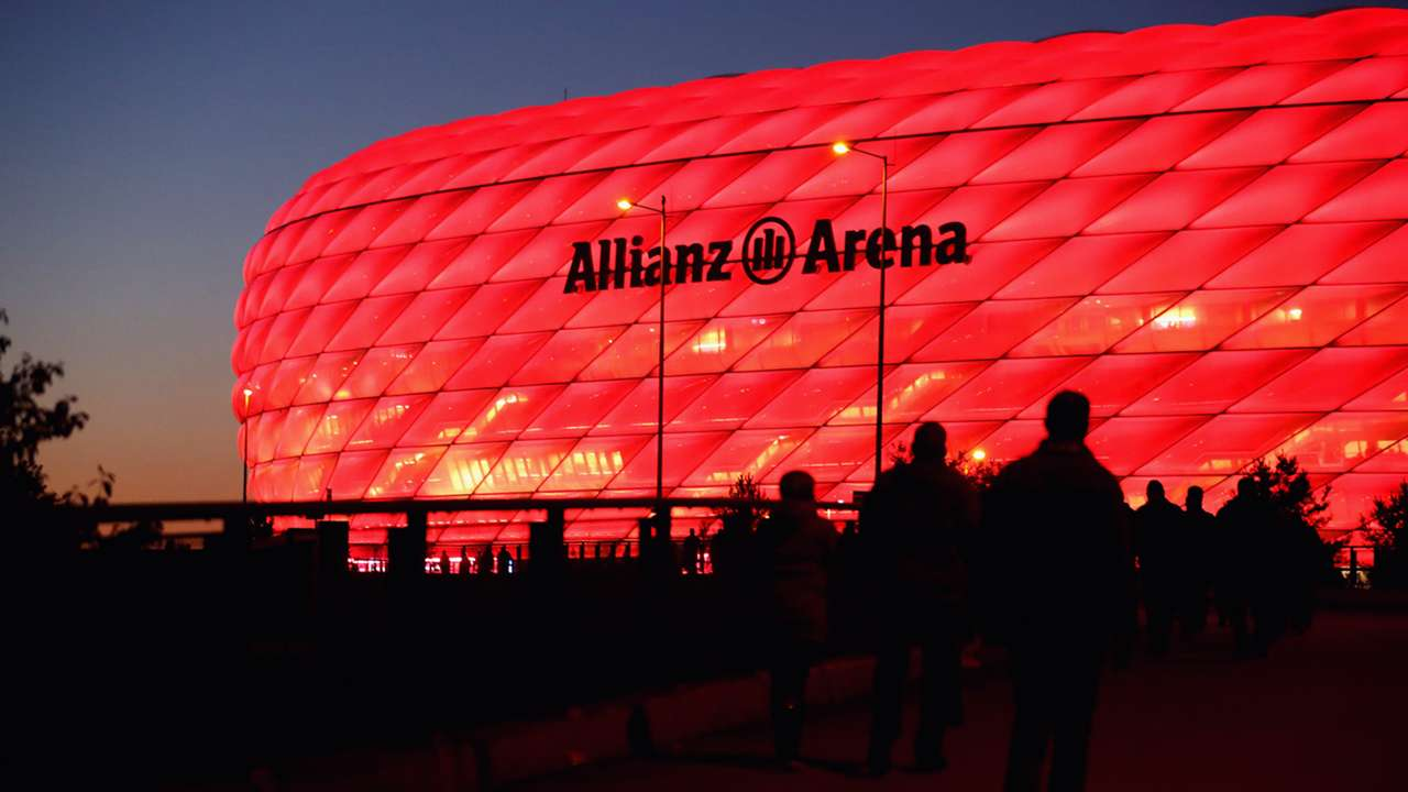 Allianz Arena Bayern Munich Germany general view