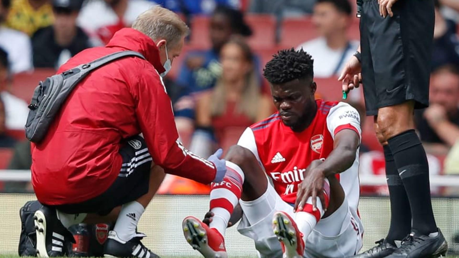 'It's not looking good' – Arsenal boss Arteta on Partey injury
