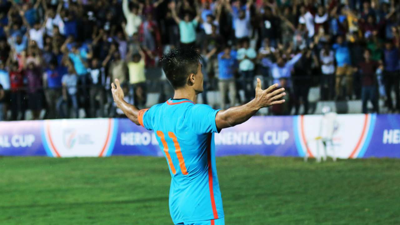 Sunil Chhetri Indian National Team