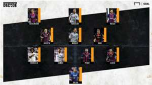 La Liga Team of the Decade GFX
