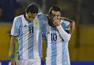 Di Maria Messi Ecuador Argentina Eliminatorias 10102017