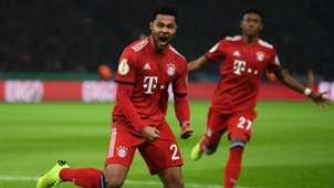 Serge Gnabry FC Bayern Hertha BSC