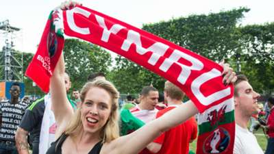 Euro 2016 supporter Wales