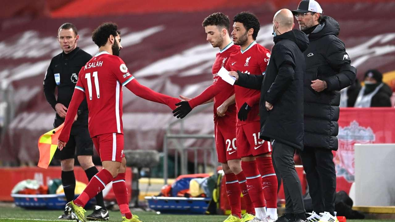 Mo Salah Liverpool Chelsea 2020-21